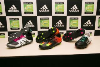 ついに! アディダススパイクの足型が日本のジュニア選手向けに!